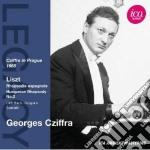 Liszt Franz - Rapsodia Spagnola, Rapsodia Ungherese N.2 cd musicale di Franz Liszt