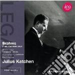 Concerto per pianoforte op.15 cd musicale di Johannes Brahms