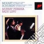 Perahia / Lupu - Mozart Sonata 448 - Schubert Fantasia D940 cd musicale di Perahia/lupu