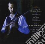 Vivaldi - Le Quattro Stagioni - Giuliano Carmignola cd musicale di Marcon Carmignola