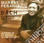 Bach - Concerti Per Piano N.1,2,4 - Murray Perahia cd musicale di MURRAY PERAHIA