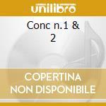 Conc n.1 & 2 cd musicale di Liszt