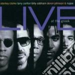 LIVE AT THE GREEK cd musicale di CLARKE STANLEY & FRIENDS
