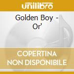 Or cd musicale di Boy Golden
