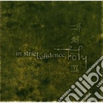 Holy: alpha omega cd musicale di In strict confidence