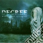 MOMENT OF SILENCE                         cd musicale di DECREE