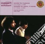 MOZART:SON.FOR 2 PIANOS/SCHUBERT:FANT.FO cd musicale di PERAHIA/LUPU