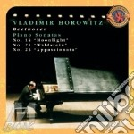 BEETHOVEN: CHIARO DI LUNA, PATETICA, APP cd musicale di Vladimir Horowitz