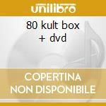80 kult box + dvd cd musicale