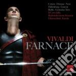 Vivaldi: il farnace (opera completa) (li cd musicale di Cencic max emanuel