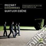 Mozart: quartetti per archi (kv465, kv13 cd musicale di Ebene Quatuor