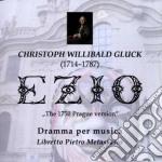Gluck: ezio (opera completa - limited) cd musicale di Alan Curtis