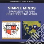 Sparkle in the rain / street fighting ye cd musicale di Minds Simple