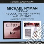 The piano / the cook, the thief, his wif cd musicale di Michael Nyman