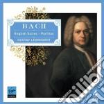Bach: suites inglesi e partite (limited) cd musicale di Gustav Leonhardt