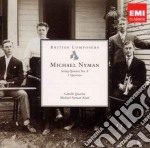 String quartet no.4; three quartets cd musicale di Michael Nyman