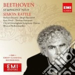 Beethoven - Rattle Simon - Masters: Beethoven - Sinfonia N.9 cd musicale di Simon Rattle