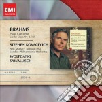 Emi masters: brahms - concerti per piano cd musicale di Stephen Kovacevich