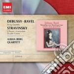 Emi masters: ravel & debussy - quartetti cd musicale di Alban berg quartett