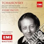 Tchaikovsky - Ballet Highlights - Andre' Previn cd musicale di Andr� Previn