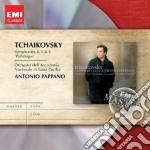 Emi masters: ciaikovsky - sinfonie 4, 5 cd musicale di Antonio Pappano