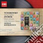 Emi masters: ciaikovsky - sinfonia manfr cd musicale di Mstisla Rostropovich