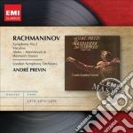 Emi masters: rachmaninov - sinfonia n.2 cd musicale di Andr� Previn