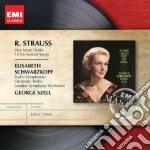 Strauss Richard - Schwarzkopf Elisabeth - Masters: Strauss - Ultimi Quattro Lieder cd musicale di Elisabet Schwarzkopf