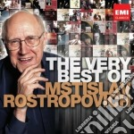 The very best of cd musicale di Mstisla Rostropovich