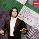 Verdi: cori d'opera; ouvertures e ballet cd musicale di Riccardo Muti