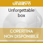 Unforgettable box cd musicale di Cole nat king