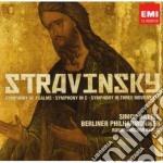 Stravinsky Igor - Rattle Simon - Sinfonie cd musicale di Simon Rattle