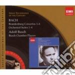 CONCERTI BRANDEBURGHESI; SUITES PER ORCH  cd musicale di Adolf Busch