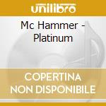 Platinum cd musicale di Hammer Mc