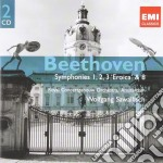 Symphonies no.1-3 & 8 cd musicale di Beethoven