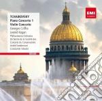 Tchaikovsky - Piano Concertos / Violin Concerto - Leonid Kogan cd musicale di Gyorgi Cziffra