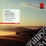 R. strauss: songs with orchestra cd musicale di Gundula Janowitz