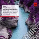 Grieg: piano concertos & lyric pieces cd musicale di Andsnes leif ove