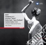 Bizet: symphony in c, carmen-suite cd musicale di Seiji Ozawa