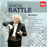 RATTLE: BOX BRITTEN                       cd musicale di Simon Rattle