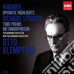 Wagner: opera highlights; strauss: tone cd musicale di Otto Klemperer