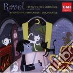 Ravel Maurice - Rattle Simon - L'enfant Et Les Sortileges cd musicale di Simon Rattle