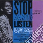 Baby Face Willette - Stop And Listen cd musicale di WILLETTE BABY FACE