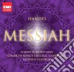 MESSIAH                                   cd musicale di KING'S COLLEGE CHOIR