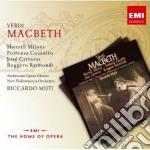 New opera series: verdi macbeth cd musicale di Riccardo Muti