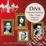 Inspiration Series - Diva: Soprano Festival cd musicale di Artisti Vari