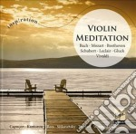 Inspiration Series: Violin Meditation cd musicale di Artisti Vari