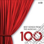 100 best songs from the musicals cd musicale di Artisti Vari