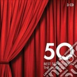 50 best songs from the musicals cd musicale di Artisti Vari