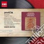 Janacek Leos - Rattle Simon - Masters: Janacek Glagolitic Mass  Sinfonietta cd musicale di Simon Rattle